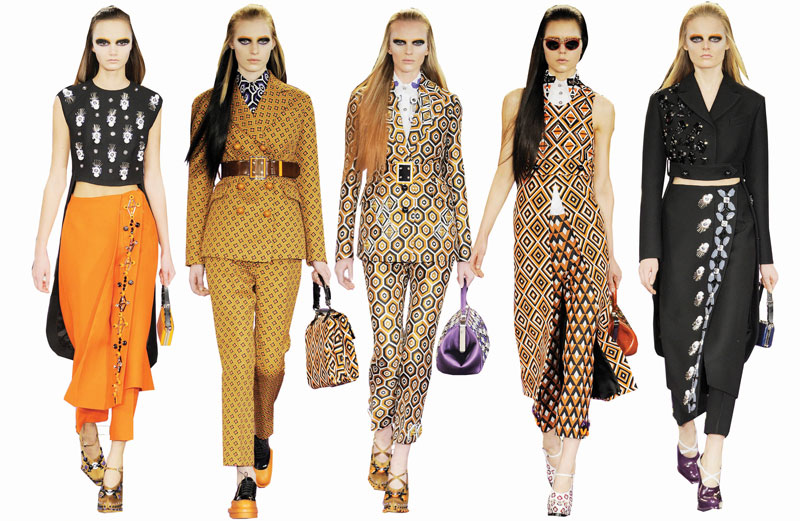 Prada Autumn / Winter Collection 2012
