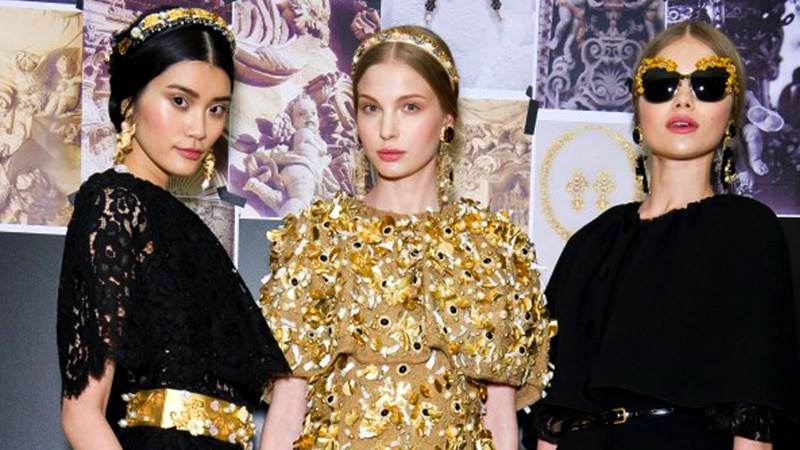 dolce and gabbana features image1 - Autumn Winter 2012 Fashion Collections