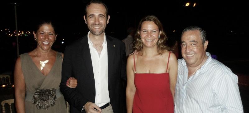 Escena Social en Mallorca en agosto