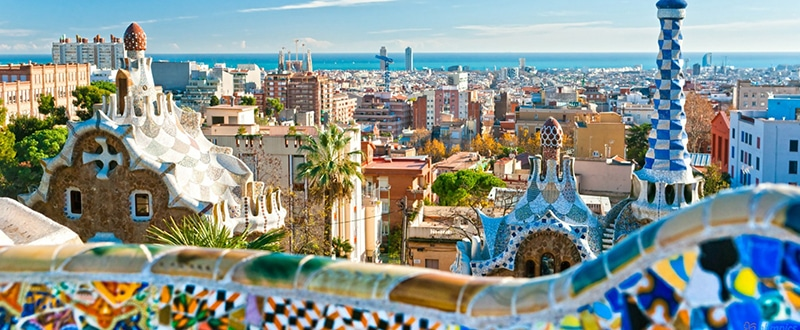 parc guell barcelona spain 1600x900 1 - Luxury Guide to Barcelona