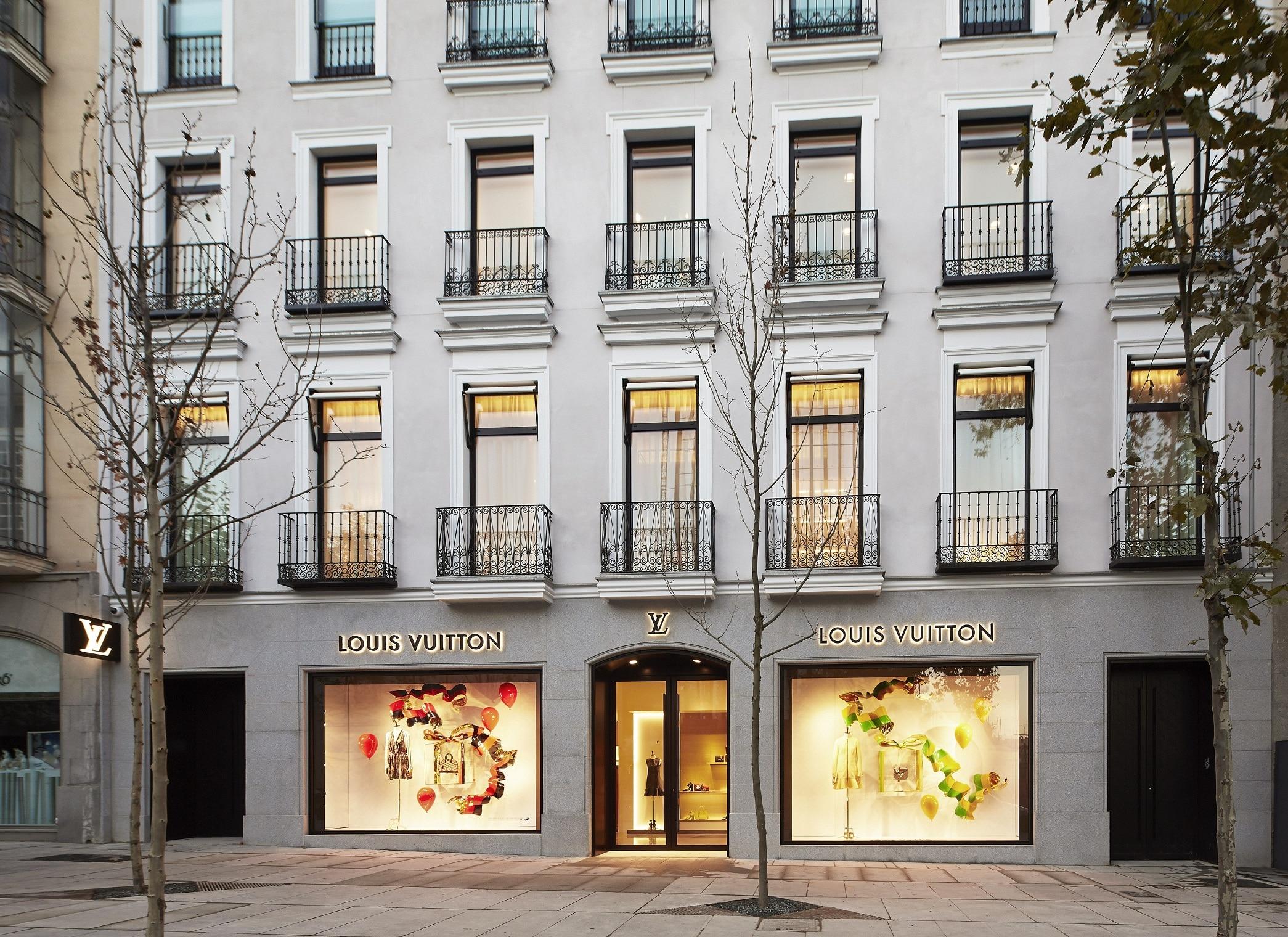 Eröffnung des neues Louis Vuitton Shops in Madrid