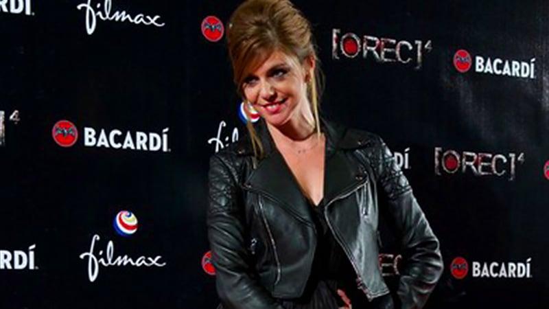 Manuela Velasco trägt Dior für die Premiere von Rec 4 in Madrid