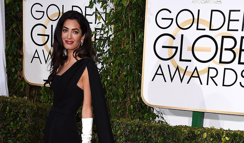 Amal Clooney trägt Dior