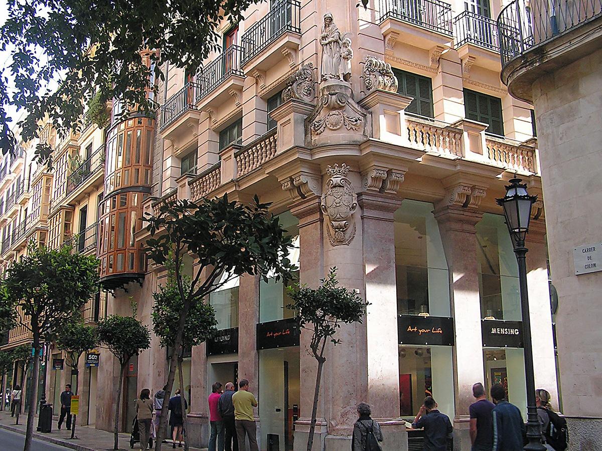 Charles Fazzino visits Palma