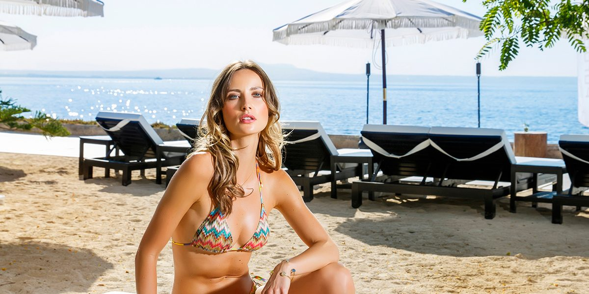 Missoni Mare Bikini from Kidama Boutique · Lucas Jack Bracelet, Necklace  & Ring from Rialto Living