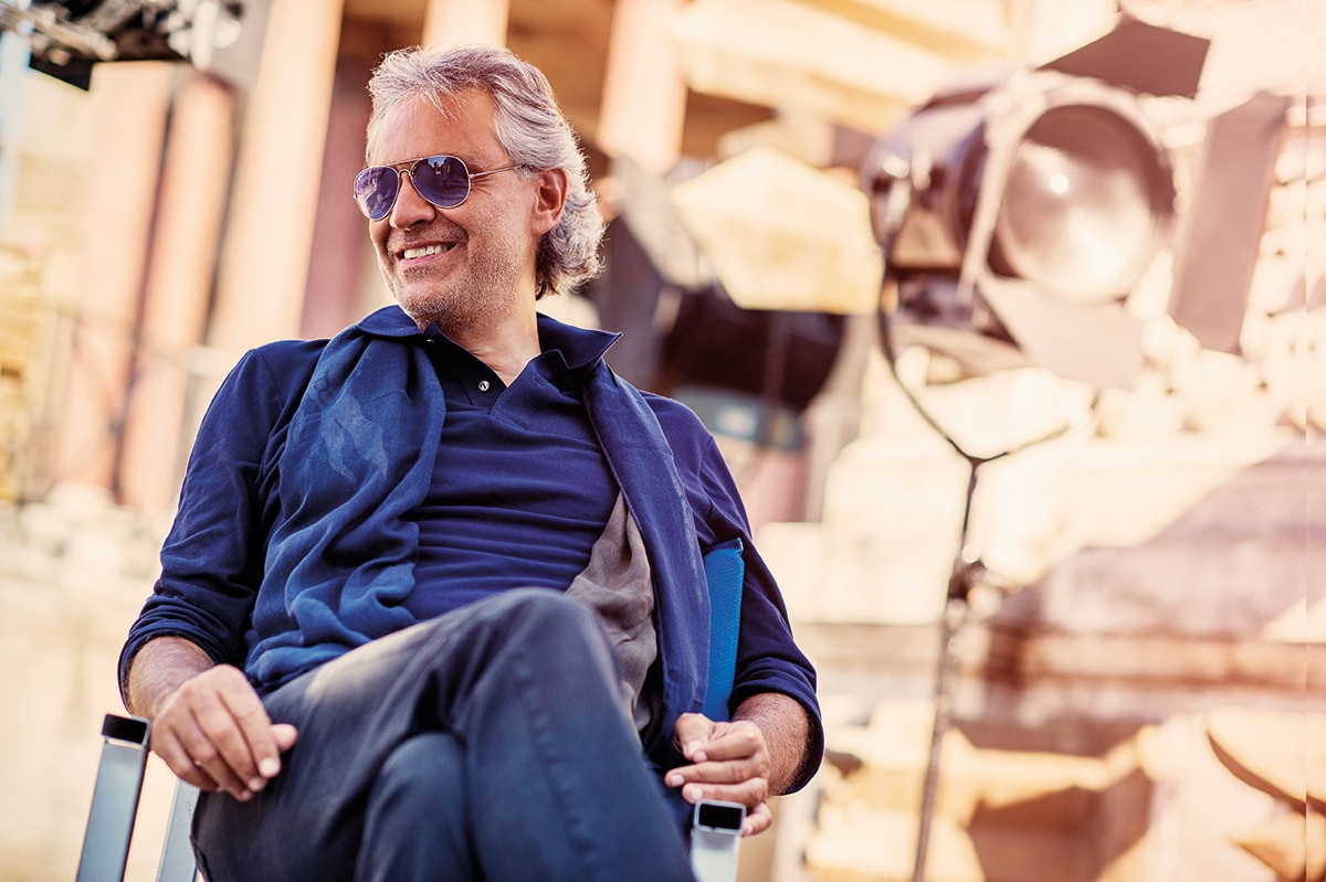 Andrea Bocelli - on top of the world