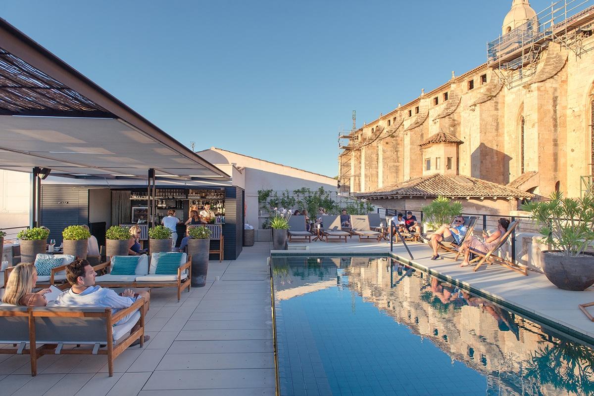 A romantic rooftop hideaway in Palma