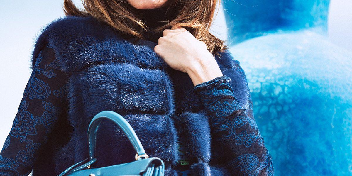 Art: Homenaje a Majorelle, BJ / YV 2016 Simonetta Ravizza gilet from Kidama Boutique Ermanno Scervino Jeans from Kidama Boutique Hermes Bag, Gallery Red, prices to consult at store