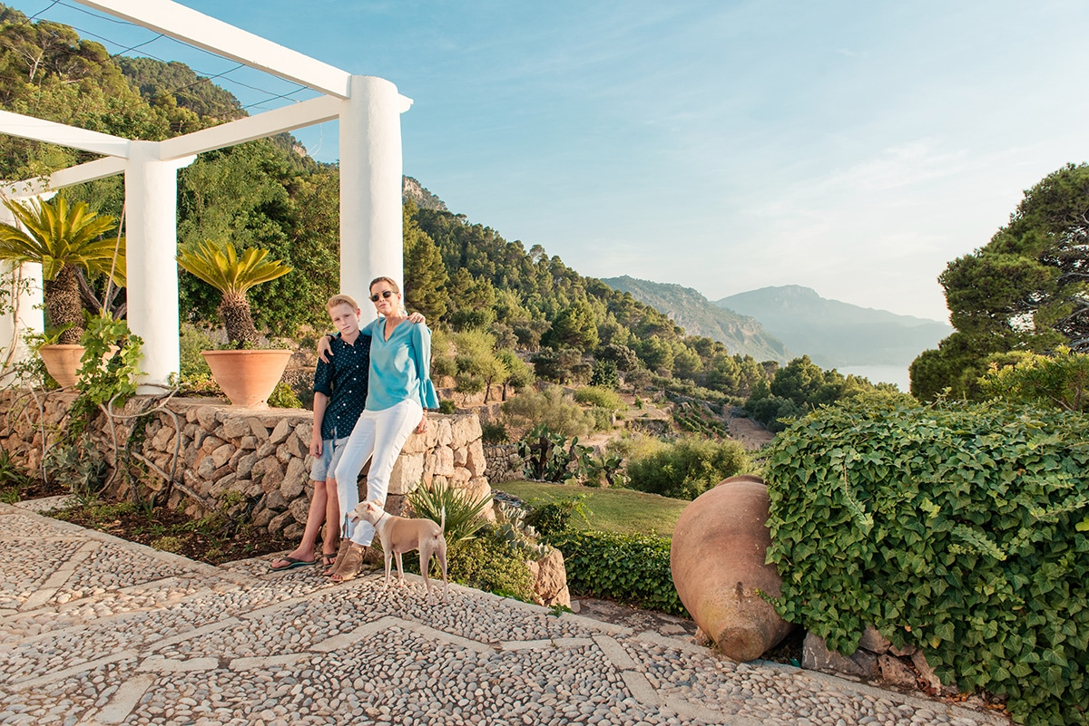 Diandra Douglas at home on Mallorca - Luxury Lifestyle