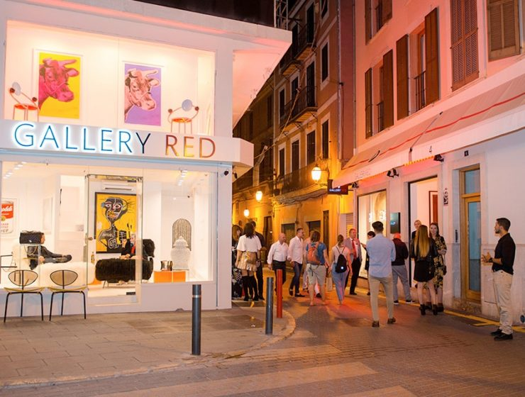 gallery red opening 032 740x560 - Gallery Red Opens in Palma