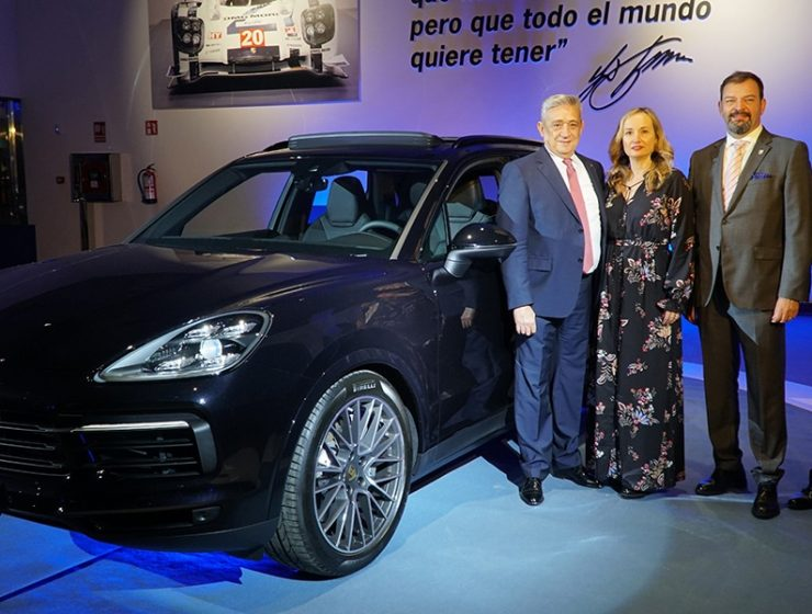porsche cayenne 740x560 - The Debut of the New Porsche Cayenne