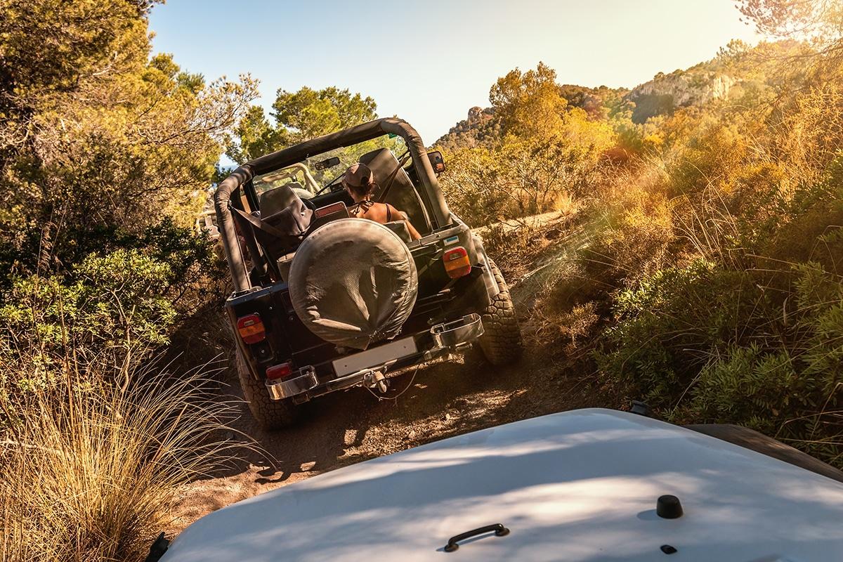 jeep - 12 unmissable winter adventures on Mallorca