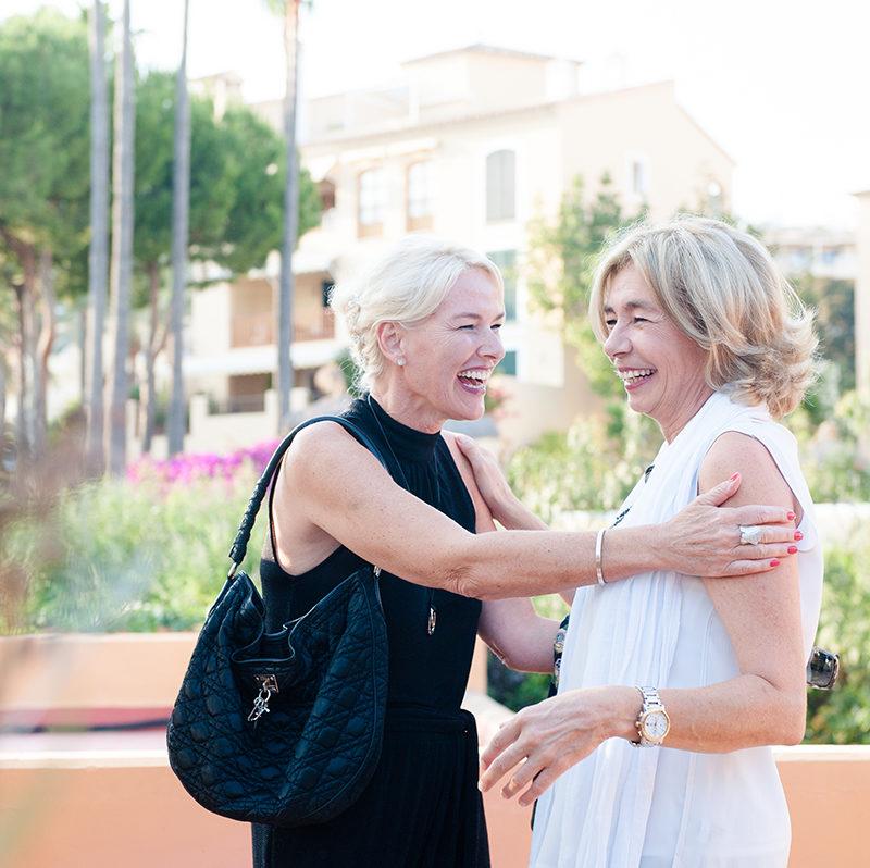 Birgit Müller party Puerto Portlas