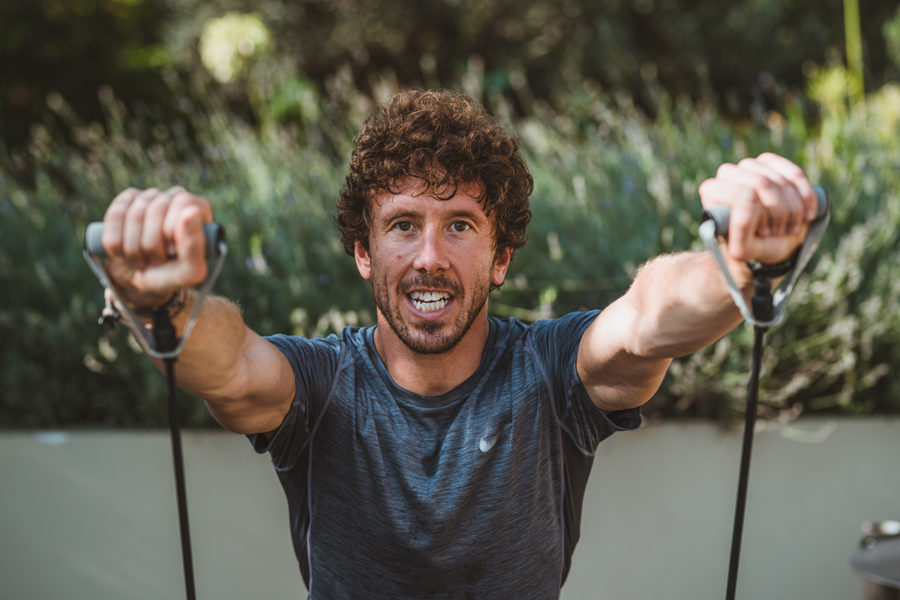 Personal trainer James Timmons Mallorca