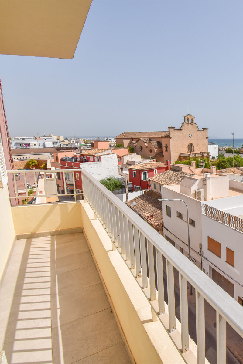 Sea view apartment near Palma