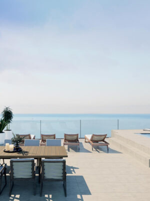 Designer Penthouses with Sea Views in Cala Mayor