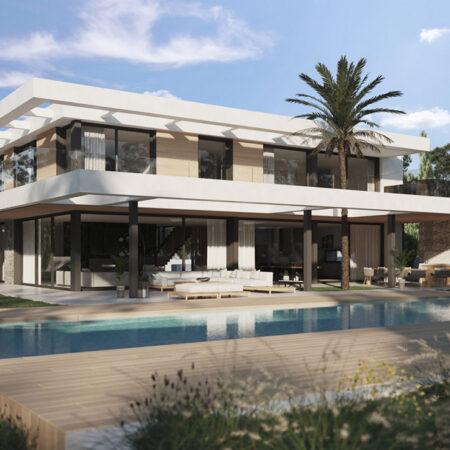 Luxury new build villa for sale in Santa Ponsa